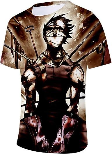 Camisetas Hombres y Mujeres jóvenes Transpirables y cómodos de Moda Divertidos Animados Camisetas de Manga Corta en 3D Que Son más llamativas.: Amazon.es: Ropa y accesorios