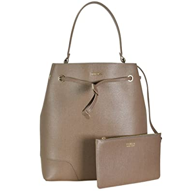0bf6dd0d632a Amazon.com  Furla Women s Large Stacy Bucket Bag