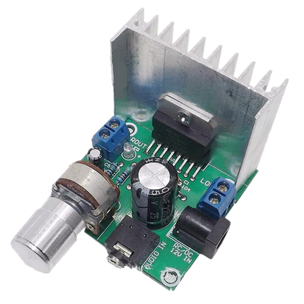 AC/DC 12V TDA7297 2x15W Digital Audio Amplifier DIY Kit Dual-Channel Module Generic STK0151004970