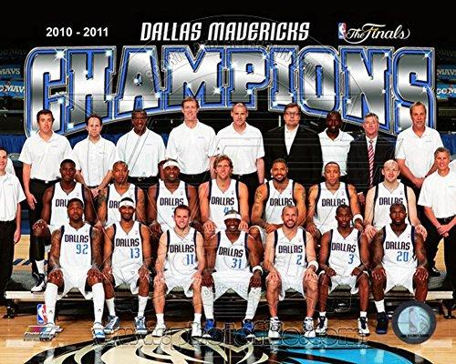 The Dallas Mavericks 2011 NBA Finals Championship Team Photo(#48) 20 x 16in