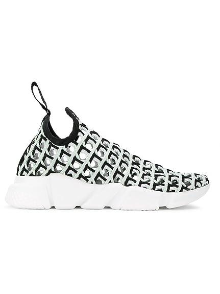 Balenciaga Mujer 454483W05m2 Blanco/Negro Otros Materiales Zapatillas Slip-On: Amazon.es: Zapatos y complementos