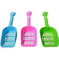 Demarkt 3X Limpieza de Mascotas Pala de Plástico