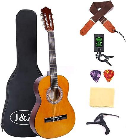Kits de iniciación para guitarra acústica clásica para ...