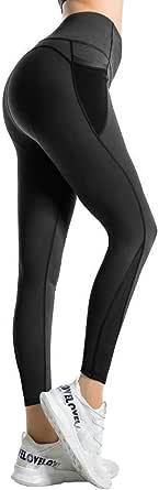 RaMokey Leggings Mujer Pantalón Deportivo Cintura Alta con Bolsillos Leggings Mallas para Yoga Pilates Running Fitness y Ejercicio…