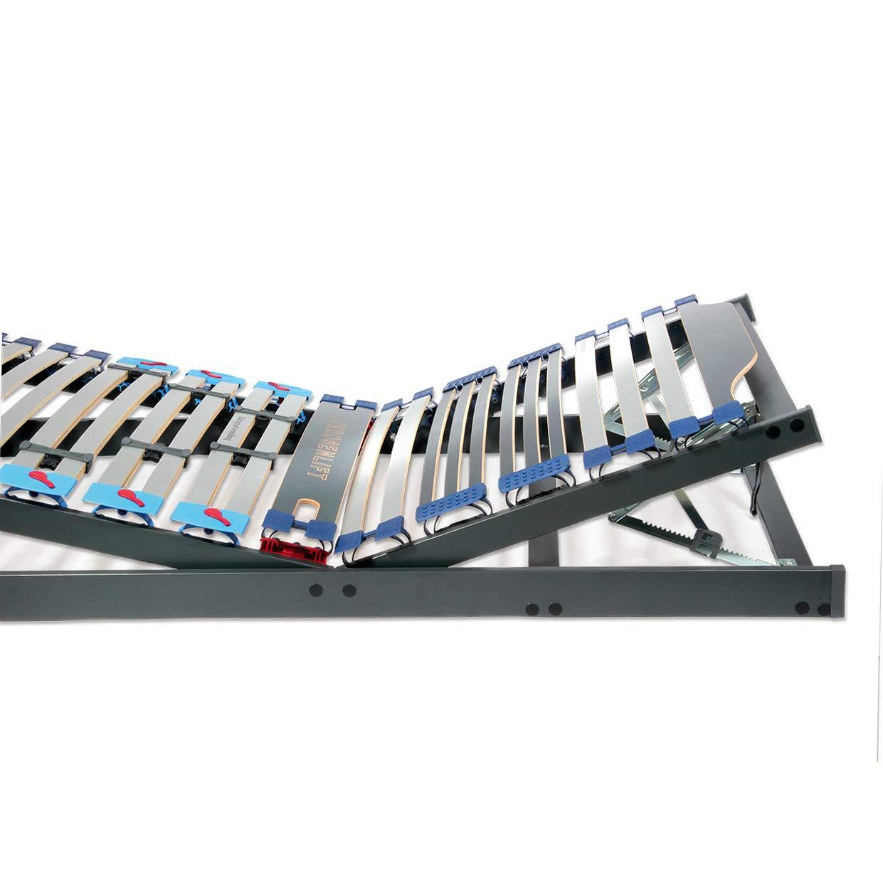 matratze für mich by MATRABELLA Lattenrost Lars Kopf- und Fußteil verstellbar. Holzleisten-Lattenrost bis 200 kg belastbar (80 x 220 cm)