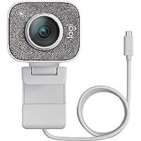 Logitech StreamCam, Full HD 1080p vid 60 fps, stöd för vertikal video i full HD, Autofokus och exponering med…