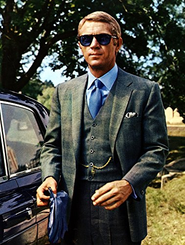 Posterazzi The Thomas Crown Affair Steve McQueen 1968 Photo Poster Print, (8 x ()