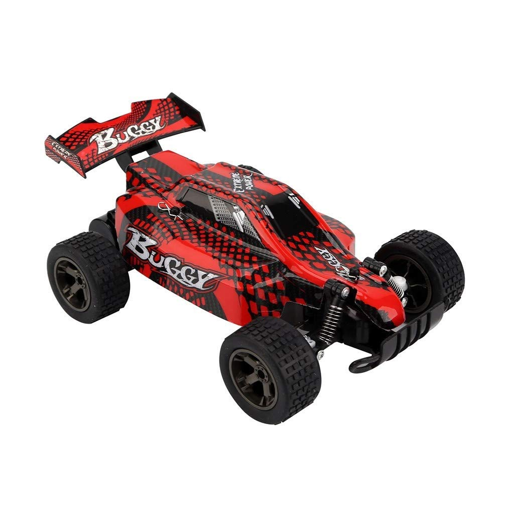 Zenghh 1:18 Remote Control Car 2810 2.4G 20Km / H High Speed Racing Off-Road Vehicle Remote Control Climbing Car High Speed Long Distance Racing Rock Mountain Bike ( Color : Red ) by Zenghh