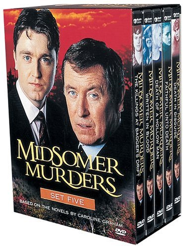 Watch Badger - Midsomer Murders: Set Five (The Killings at Badger's Drift / Written in Blood / Death of a Hollow Man / Faithful unto Death / Death in Disguise)
