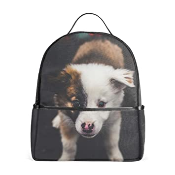 abc8ad6e2972 Amazon.com: Puppy Muzzle Spotted Cute Backpack for Kids Boys Girls ...