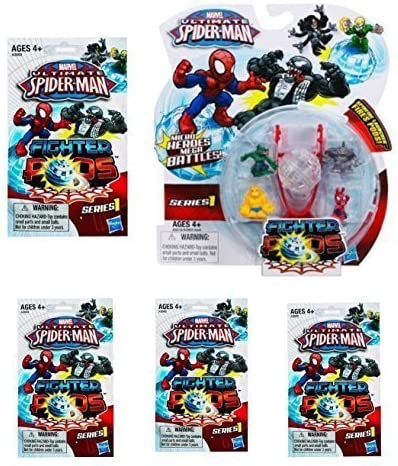 Ultimate Spider-Man Fighter Pods Series 1 Thing