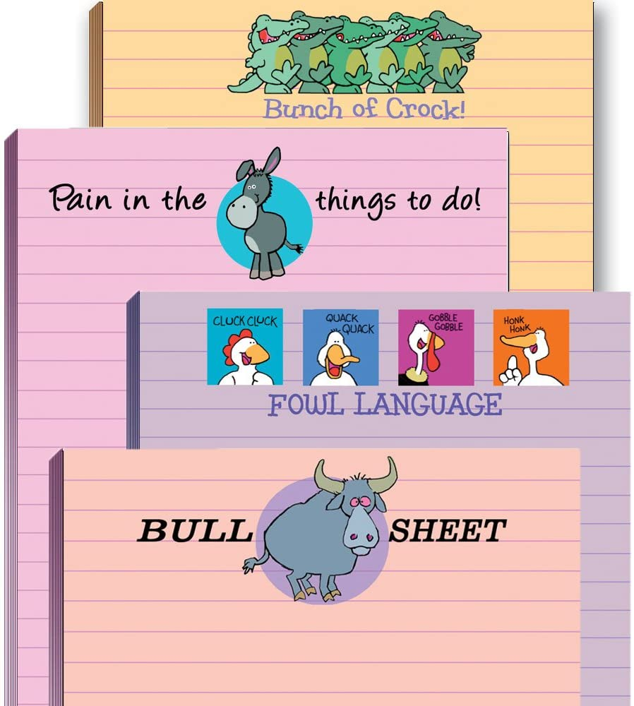 Punny Notepads