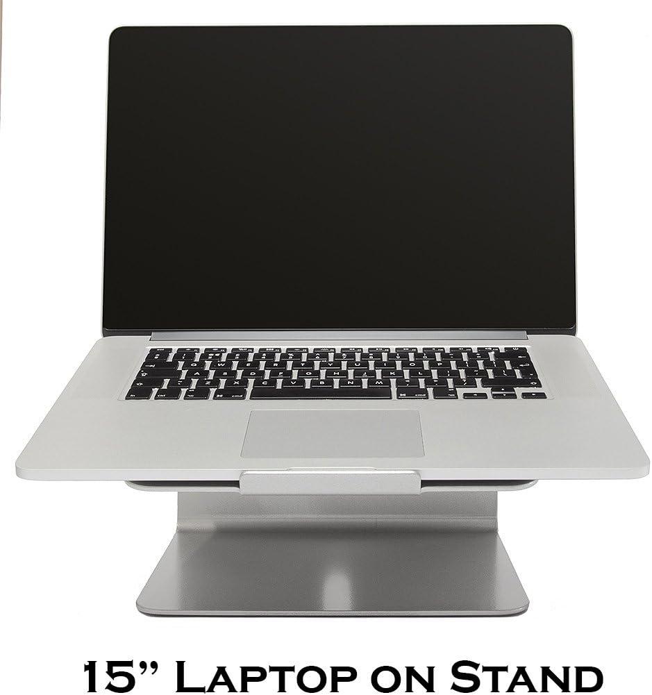 Nero dell Lenovo HP Fujitsu e 27,9 cm a 38,1 cm per portatil Bramley Potenza in Alluminio di qualit/à Premium con Supporto per Apple MacBook PRO//Air