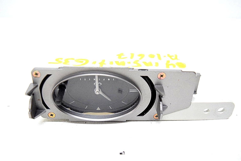 03 04 Infiniti G35 Analog Dash Clock Oem Car Electronics 2008 G35x Audio Wiring
