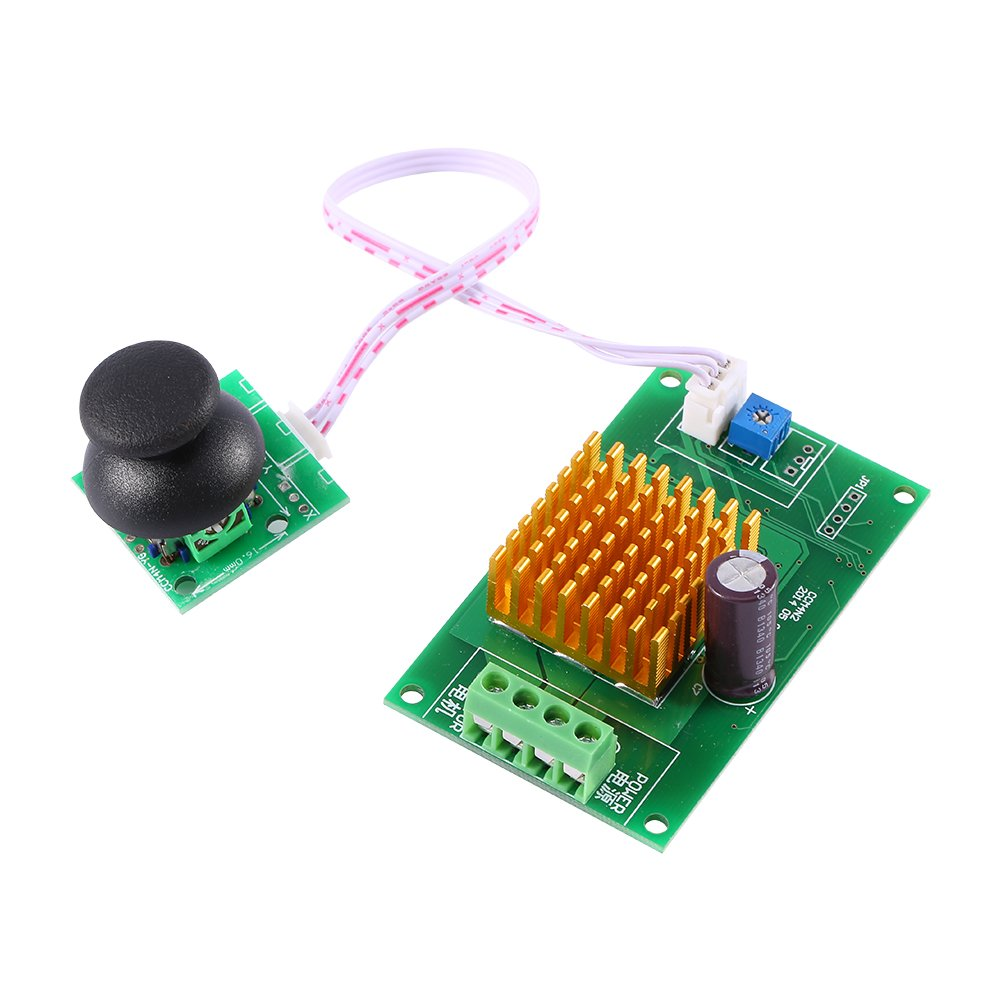 PWM DC Motor Controller Reversible with Center-Off Toggle Switch Reverse Polarity CCMN4 Walfront