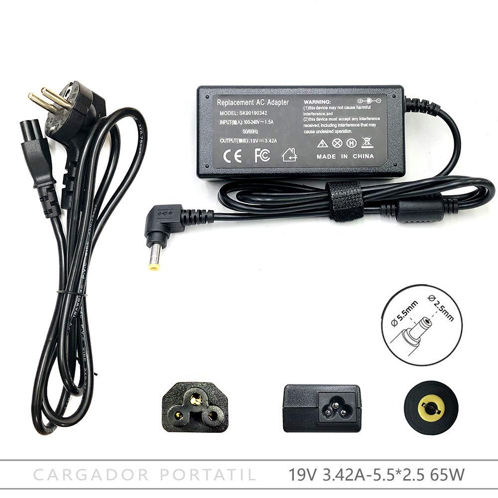FOXLIVE Cargador Portatil para ASUS F554L F554LA F555L ...