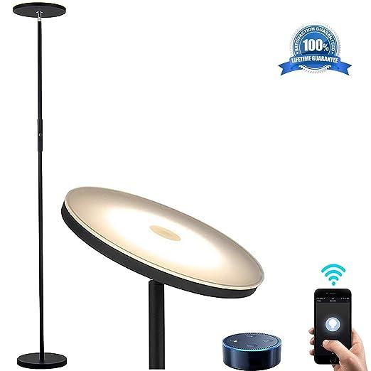 Amazon.com: Shalomlite Sky - Lámpara de pie LED con control ...
