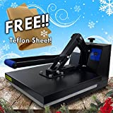 Rincons 15'' X 15'' Heat Press Machine - Sublimation Vinyl T-shirt Rhinestone Transfer