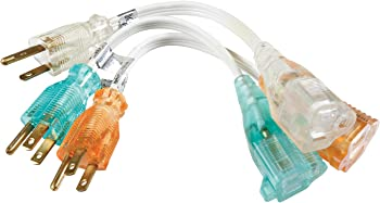3-Pack Coleman Cable 8