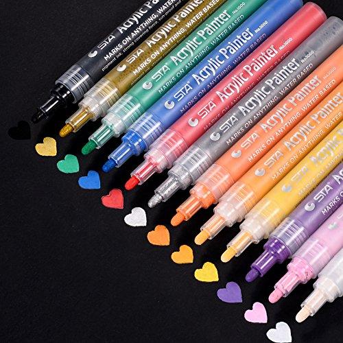 Best Paint Pens Markers Amp Daubers 2018 Paint Pens