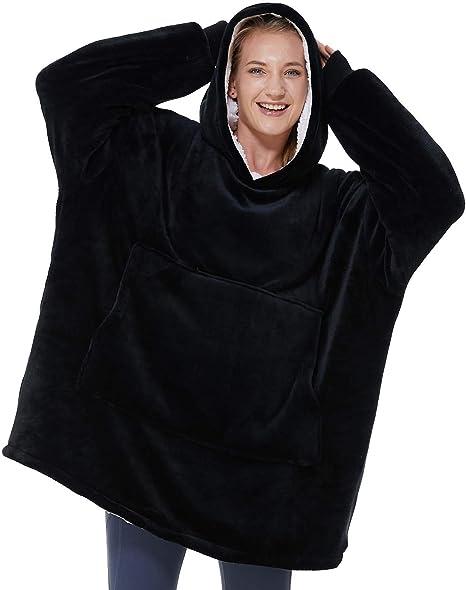 The Snuggle is Real Black Adult Hoodie