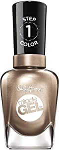 Sally Hansen Miracle Gel Nail Polish, Game of Chromes, 0.5 Ounce