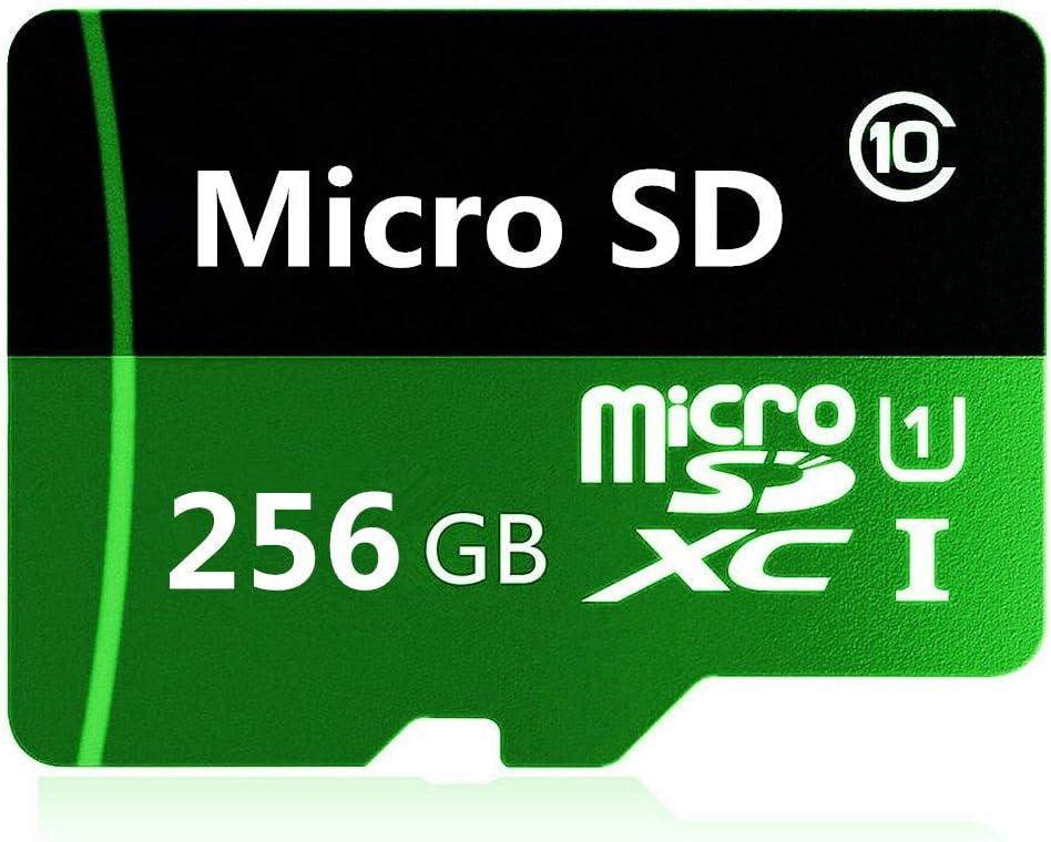 Gentai 256 GB Tarjeta de memoria Micro SD de alta velocidad 256 GB//512 GB//1024 GB, clase 10 con adaptador gratuito