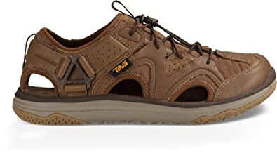 b9e2a15b9 Image Unavailable. Image not available for. Color  Teva M Terra-Float  Travel Lace Chocolate Brown Mens Fisherman Sandal ...