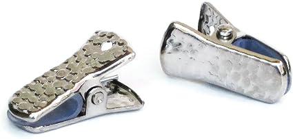 12pcs Craft Alligator Eyeglass and Badge Holder Clips
