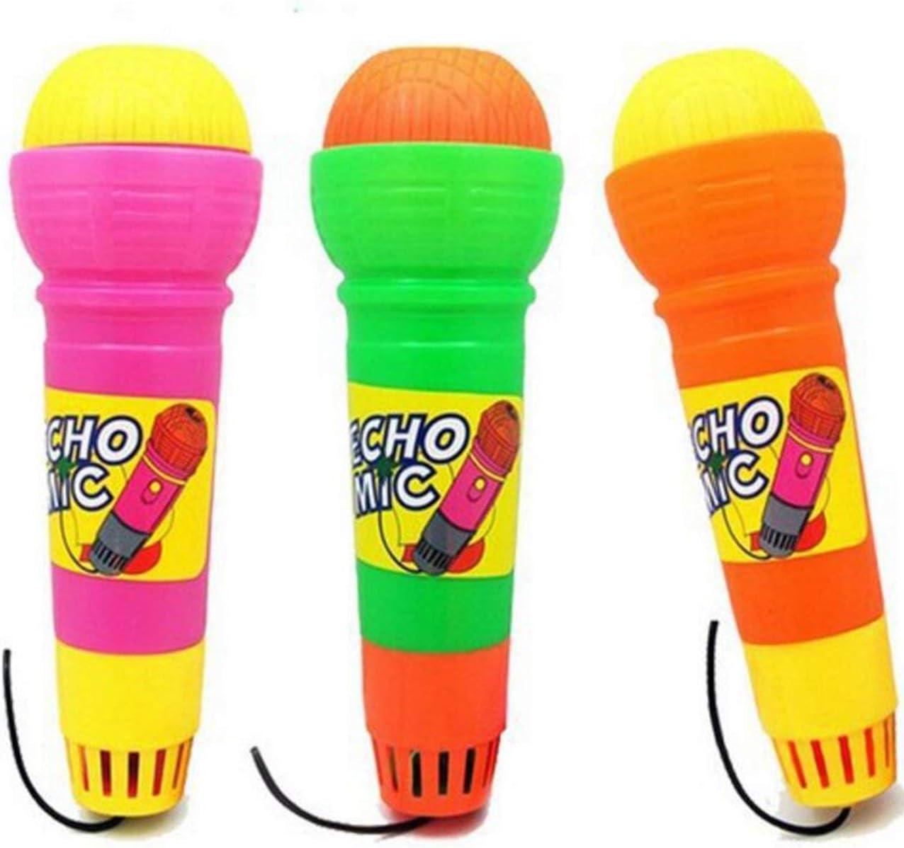 al/éatoire Pudincoco Echo Microphone Micro Changeur de Voix Jouet Cadeau Cadeau danniversaire Cadeau de f/ête Enfants Chanson Apprentissage Jouets pour Enfants