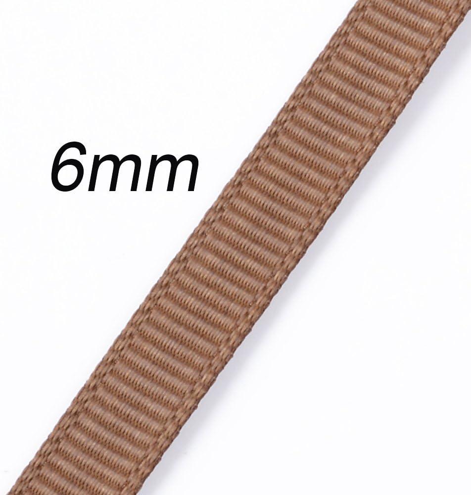 25pcs* 5M Grosgrain Ribbon 6mm Wide for DIY Ribbons Wrap Gift Ribbon Bulk Lots Mix 6mm
