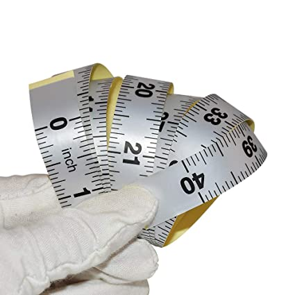 Wintape Workbench Ruler Adhesive Backed Tape Measure Left To Right
