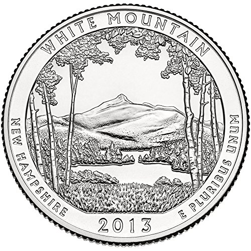 2013 D White Mountain National Forest Quarter Choice Uncirculated
