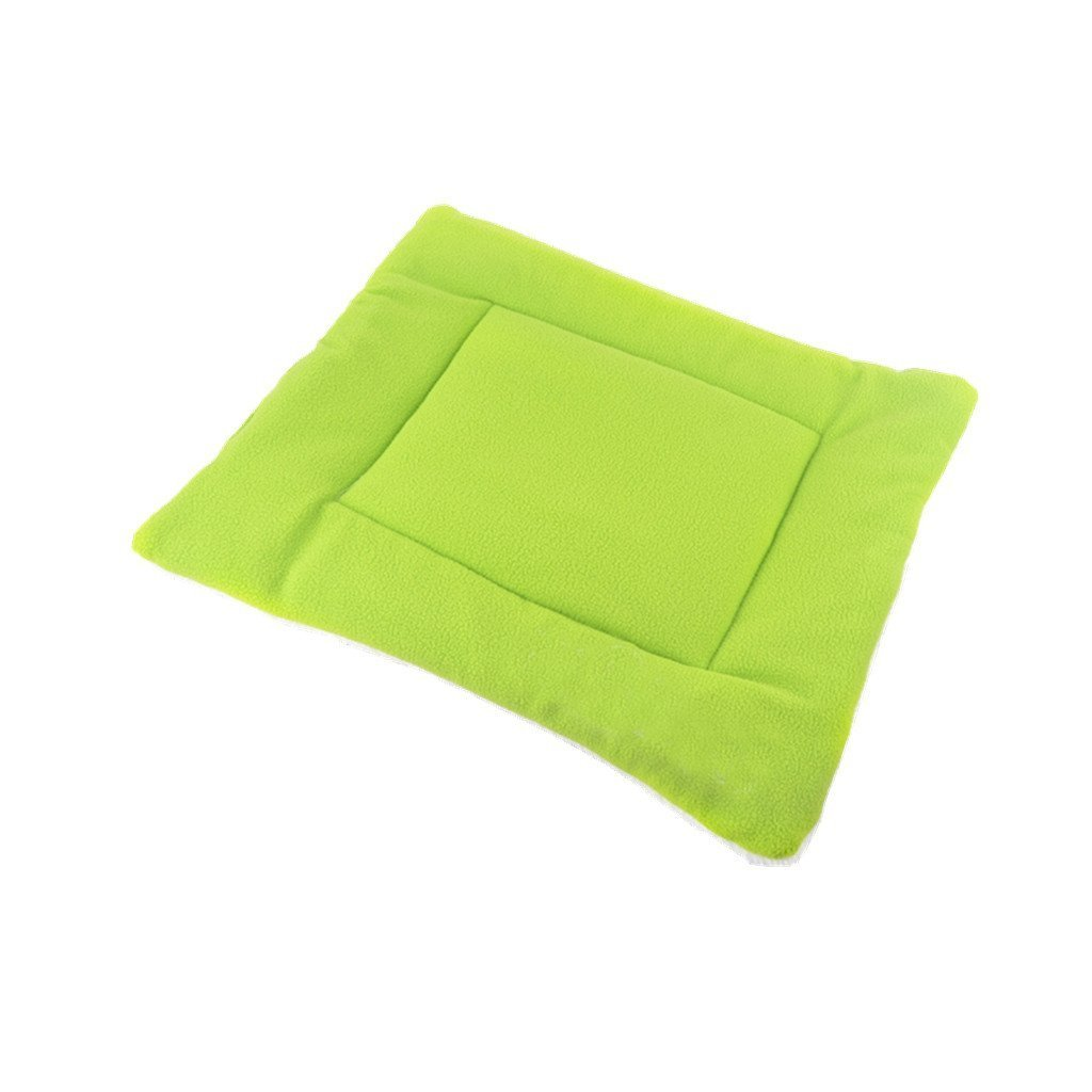 Jellbaby Pet Supplies Air Conditioning Mat Blanket Dog Bed Sleeping Playing Games Size S Green2