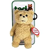 Ted Talking Backpack Clip Plush Teddy Bear テッド テディベア 6インチ おしゃべり ぬいぐるみ バッグ チャーム クリップ 「R指定版」 米国正規公式ライセンス品 並行輸入品