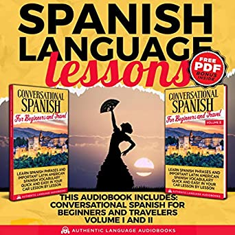 Amazon com: Spanish Language Lessons: This Book Includes
