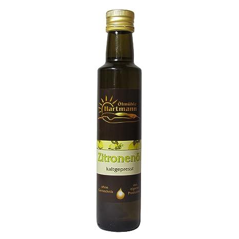 Ölmühle Hartmann GbR, Zitronenöl, 250 ml: Amazon.de: Lebensmittel ...
