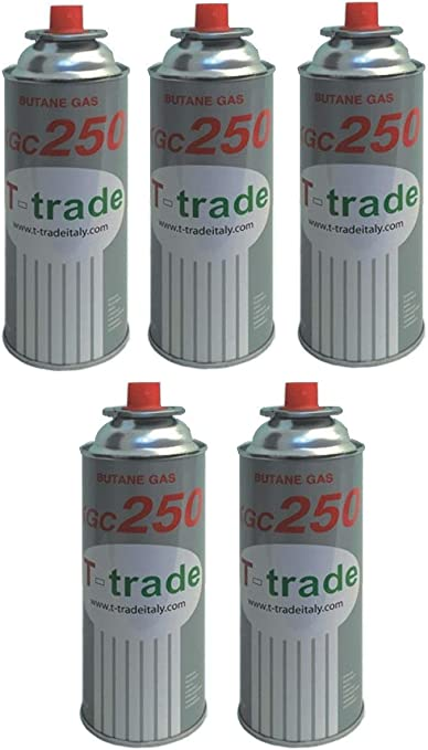 ALTIGASI 5 unidades - Cartucho bombona gas GPL 250 gr Art ...