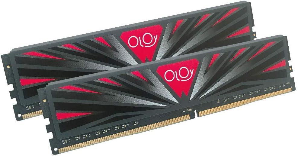 OLOy DDR4 RAM 16GB (2x8GB) 2666 MHz CL19 1.2V 288-Pin Desktop Gaming UDIMM (MD4U082619BBDA)