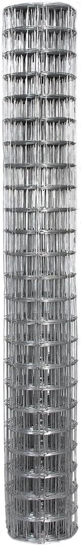 3 Inch x 2 Inch Mesh 16 Gauge Galvanized Economy Wire Fence 48 Inch Tall x 50 Feet Long