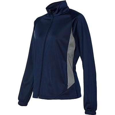 Augusta Sportswear WOMEN'S MEDALIST JACKET Navy/Graphite