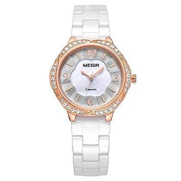 North King Indicación de la Fecha de Relojes señoras Reloj de Cuarzo muñeca Moda Tendencia Mujer Cuarzo Reloj Relojes Bonitos para Regalo de cumpleaños de ...