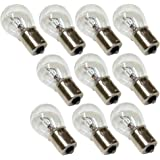 Aerzetix: Lot de 10 ampoules 24V P21W pour camion semi remorque - C1684