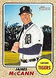 2017 Topps Heritage Baseball #242 James McCann Tigers