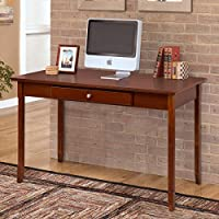Tangkula Writing Table Home Office Compact Heavy Duty Laptop PC Computer Desk Writing Table