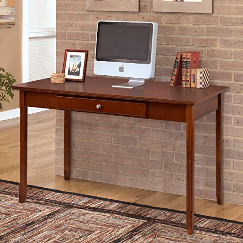 Tangkula Writing Table Home Office Compact Heavy Duty Laptop PC Computer Desk Writing Table by TANGKULA