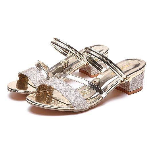 531963972dc Amazon.com: TOTOD Women shoes Fashion Women Sequins Sandals Ankle ...