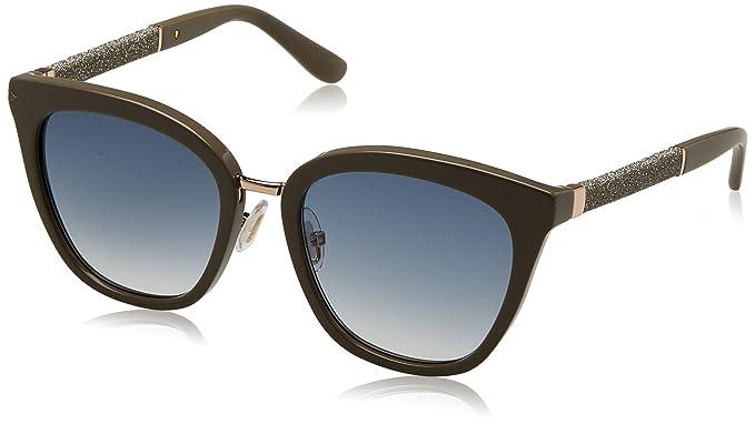 JIMMY CHOO Jimmy Choo Damen Sonnenbrille » FABRY/S«, schwarz, FA3/J6 - schwarz/braun