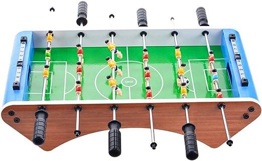 Chengzuoqing Juegos de Interior Jugar futbolín Tabla de Fútbol ...