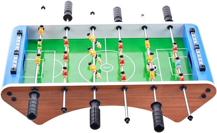 Chengzuoqing Juegos de Interior Jugar futbolín Tabla de Fútbol Sala Fútbol Mesa de Juego for Adultos Sala de niños Deportes Juego Simple for Jugar (Color : Green, Size : 36.3x26x10.5cm): Amazon.es: Hogar